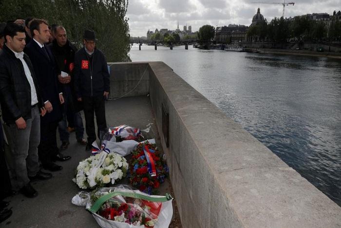 Macron rend hommage à un Marocain tué par des militants d'extrême droite en 1995