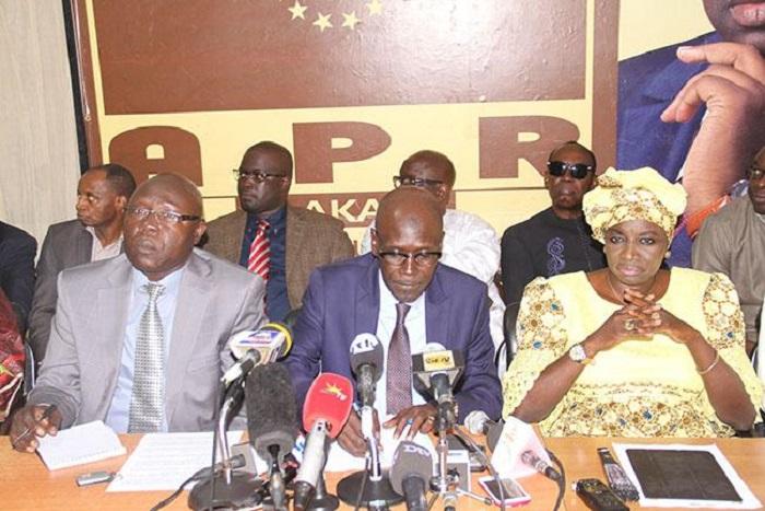 Affaires Aliou Sall et Abdoulaye Timbo: Le Sen Apr se limite au communiqué du 15 avril