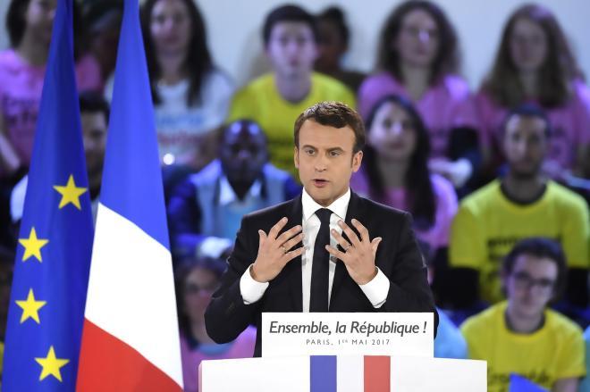 «Emmanuel Macron fait un rêve comme Martin Luther King»
