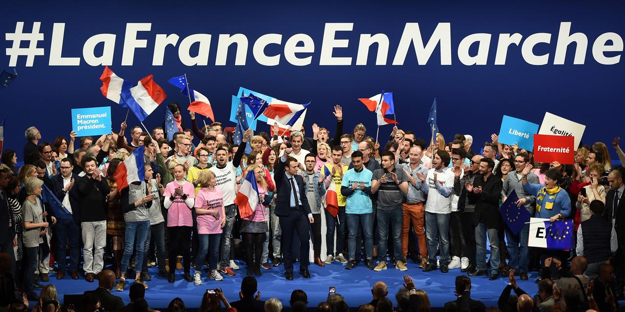 En Marche! se transforme en vue des législatives