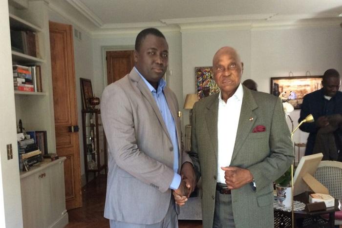 Bamba Fall rend visite à Me Abdoulaye Wade
