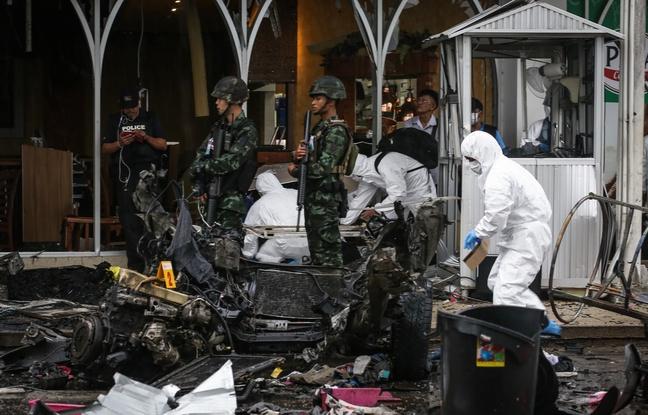 Voiture piégée en Thaïlande: Plus de 50 blessés dont des enfants