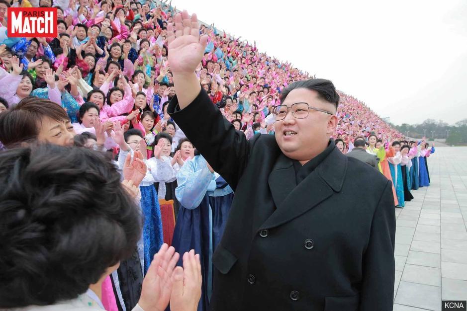 La Corée du Nord de Kim Jong-un félicite Emmanuel Macron