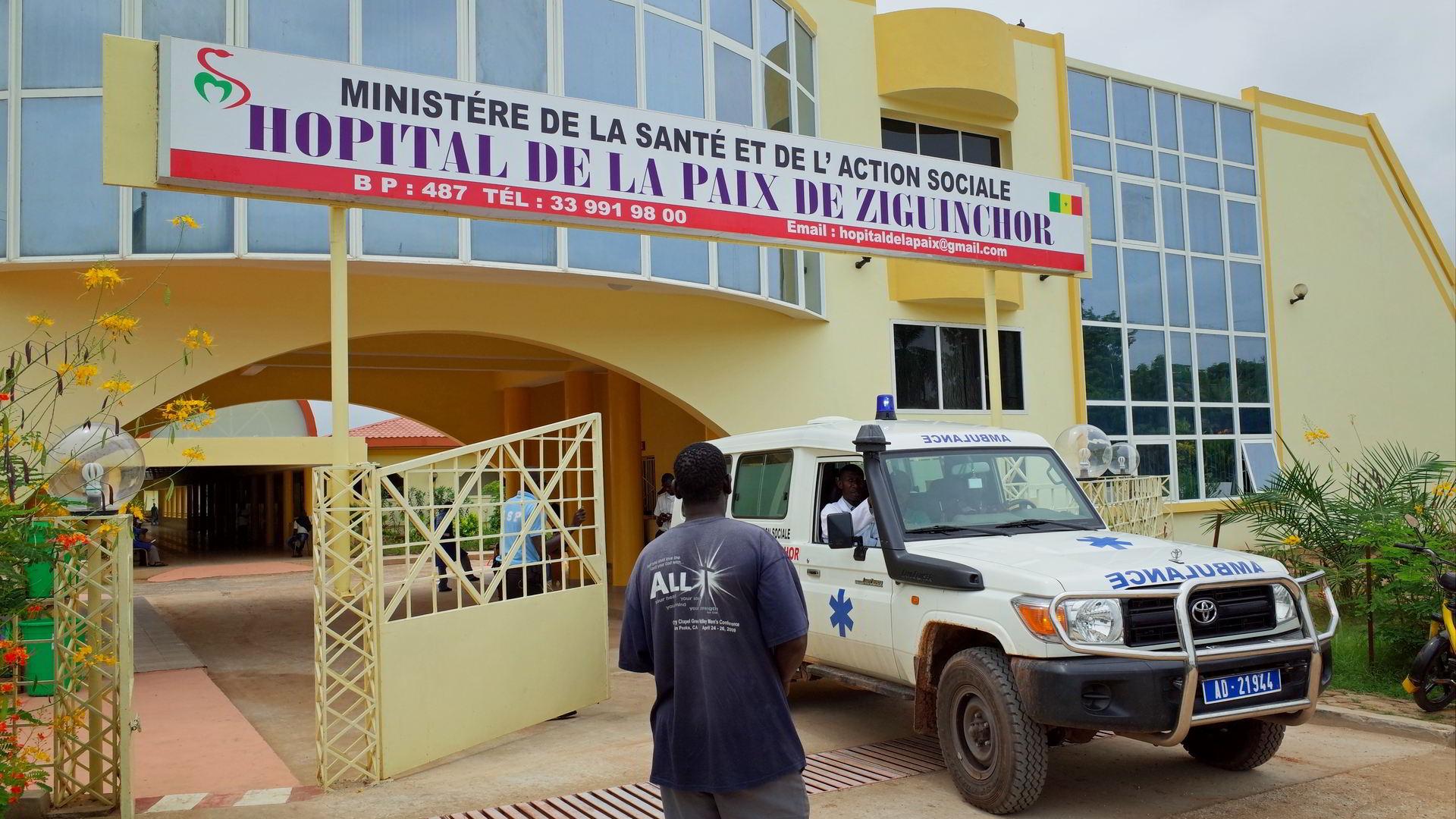 Grogne des travailleurs de l'hôpital de la paix: le mot d'ordre de 48 heures de grève reconduit