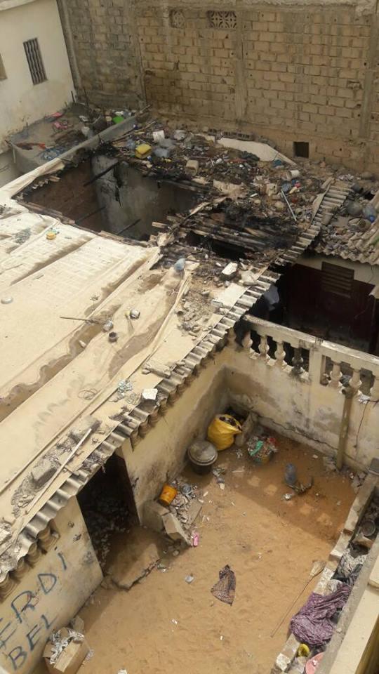 Incendie meurtrier : la maman des 5 enfants décédés internée à l'hôpital Fann, (ASSAMM)