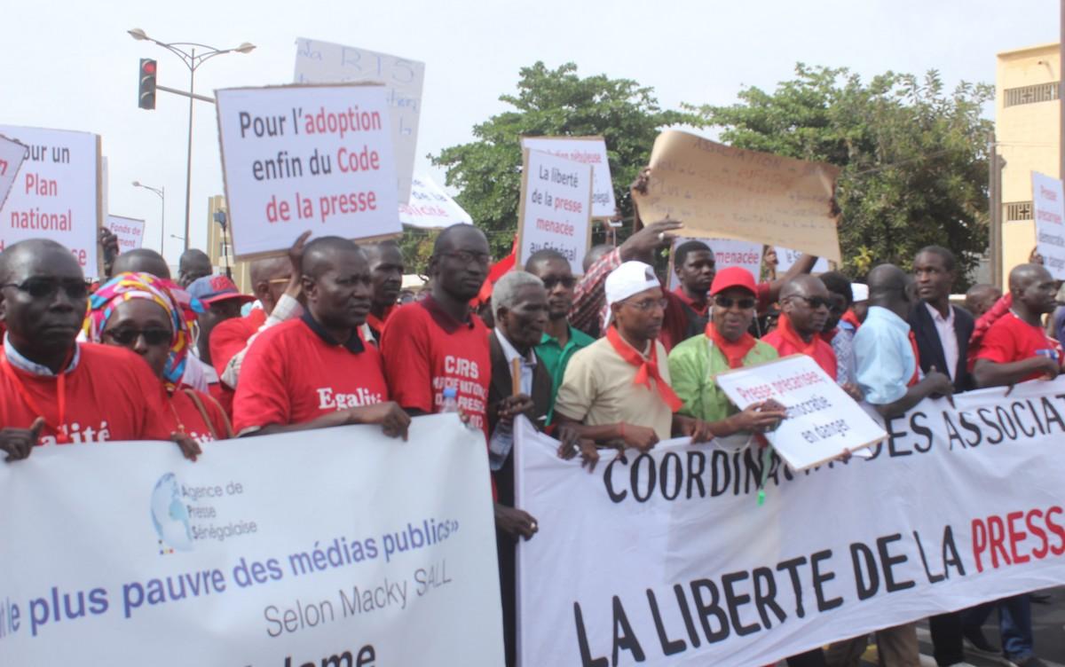 """La CAP dénonce le """"mépris total"""" des autorités et le blocage de l'aide à la presse"""