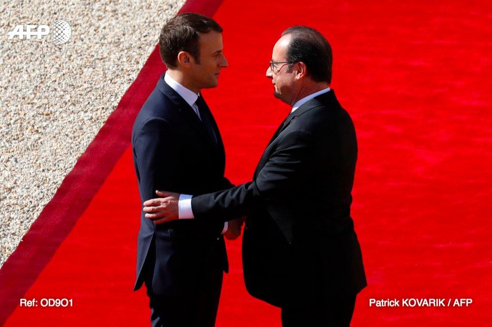 Emmanuel Macron officiellement investi président de la République