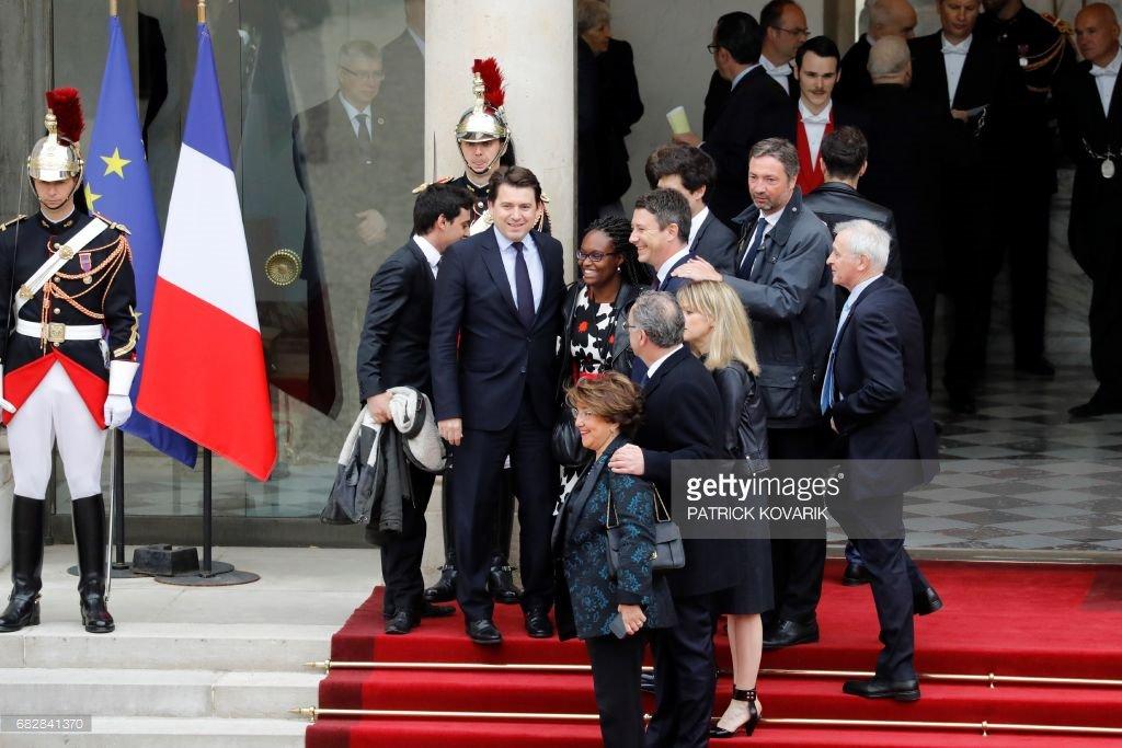 Passation de pouvoir Macron/Hollande : les premiers pas de Sibeth Ndiaye à l'Elysée