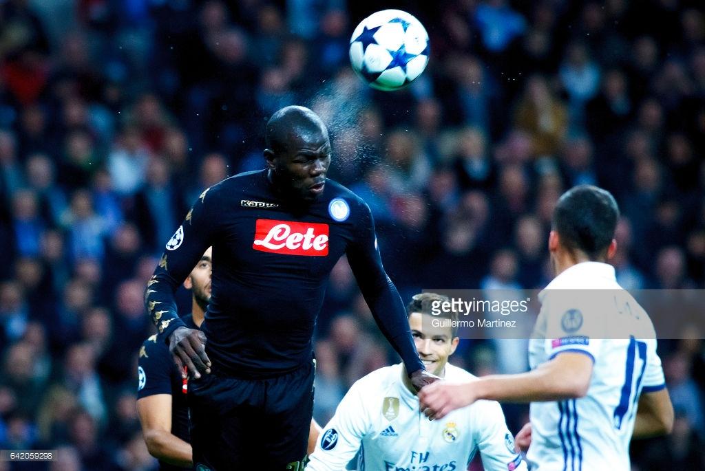 Kalidou Koulibaly 5e meilleur défenseur central d'Europe
