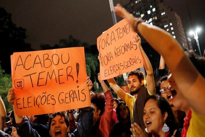 Brésil: Michel Temer à son tour menacé par un scandale de corruption