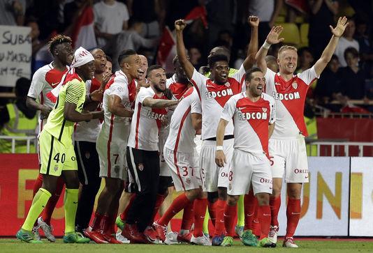 Monaco officiellement sacré champion de France après sa victoire face à Saint-Etienne (2-0)
