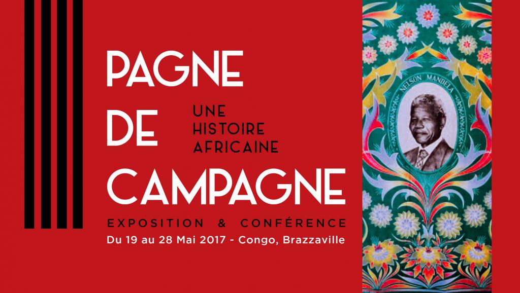 Le pagne de campagne s'expose à Brazzaville