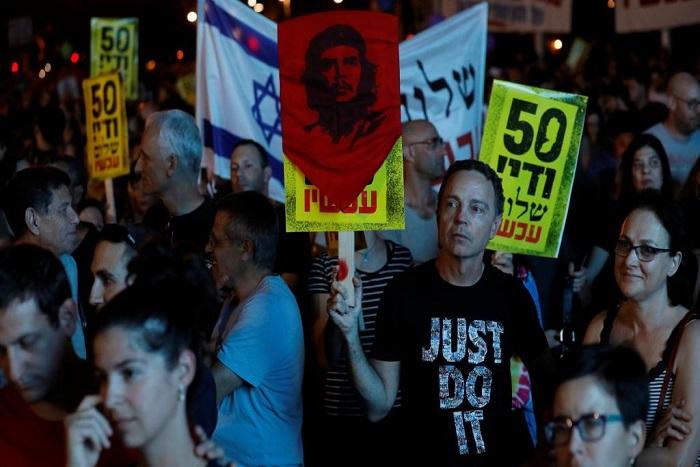 Israël: 15 000 manifestants contre l'occupation des territoires palestiniens