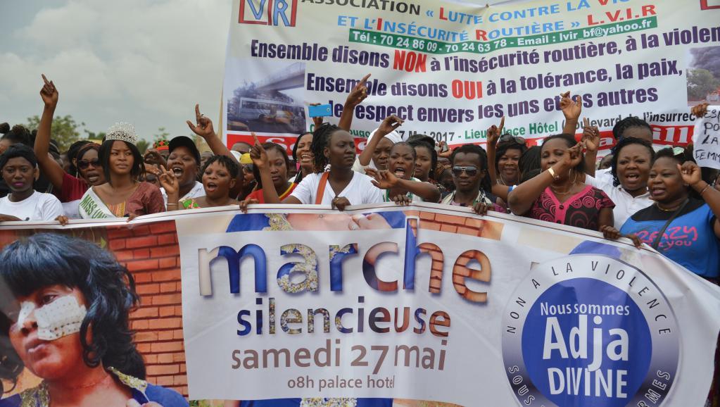 Affaire Adja Divine au Burkina: une marche contre les violences