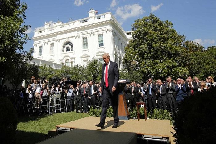 Retrait de l'accord sur le climat: Donald Trump se met la planète à dos