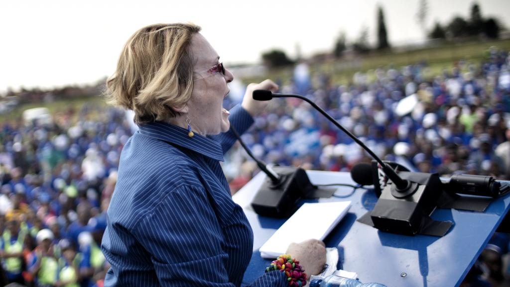 Afrique du Sud: Helen Zille suspendue de l'Alliance démocratique