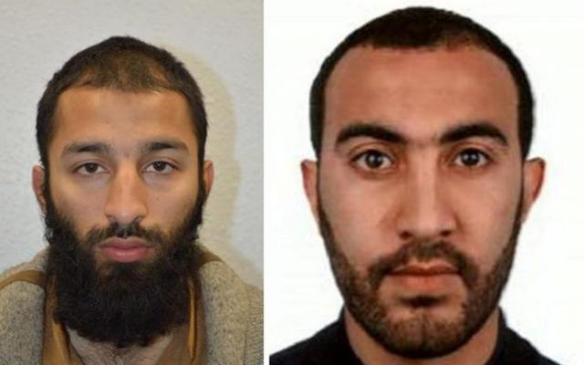 Attentat de Londres : deux des trois assaillants identifiés par la police