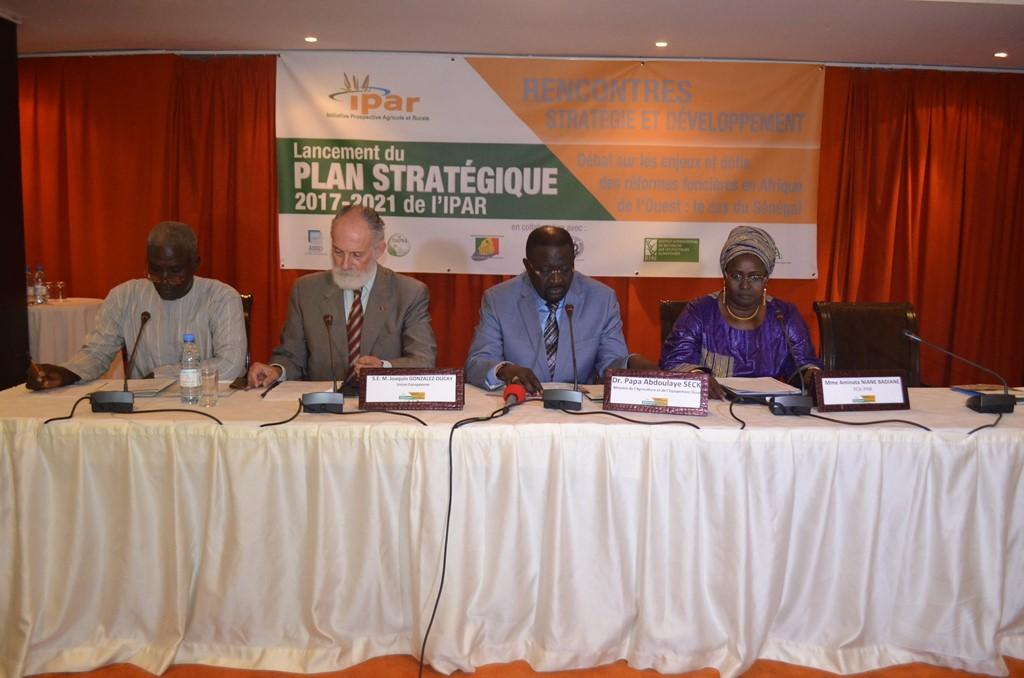 Lancement du Plan stratégique 2017-2021: l'IPAR mise sur d'autres pays de l'Afrique de l'Ouest en matière de réformes foncières