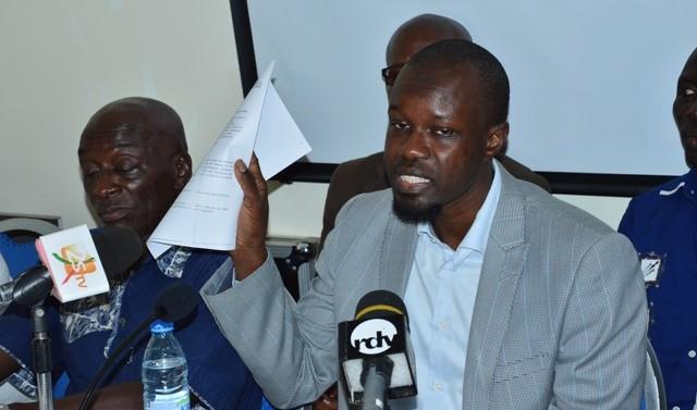 La Coalition Ndawi Askan Wi/Alternative du peuple au front pour la Refondation des institutions et contre le présidentialisme autocratique