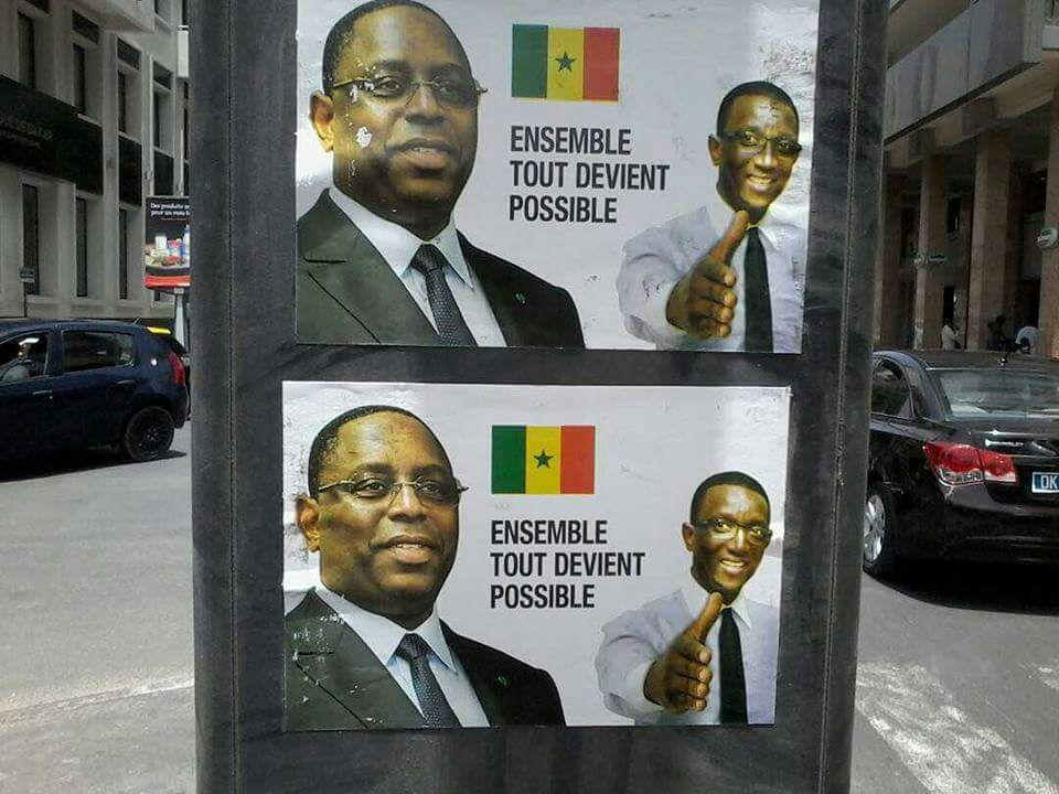 La polémique autour des affiches du ministres Amadou BA plagiant le slogan de Sarkozy continue sur les Réseaux sociaux
