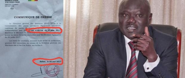 Sénégal : La bourde sur l'arrêté du Directeur général des Elections (Dge) amuse Twitter