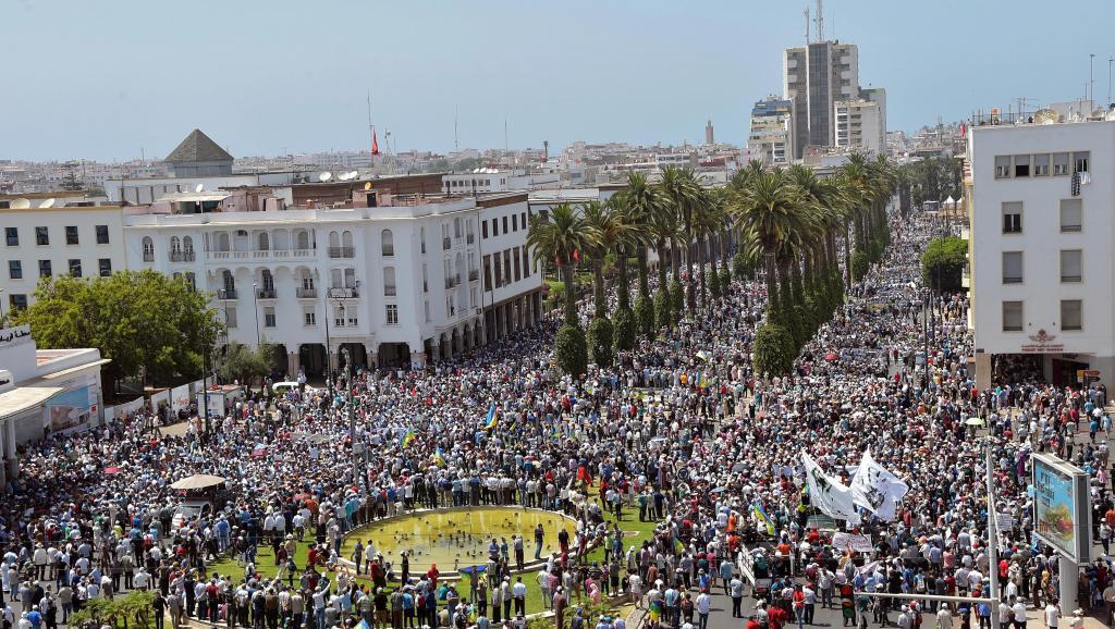 Maroc: mouvement de solidarité avec les protestants du Rif à Rabat
