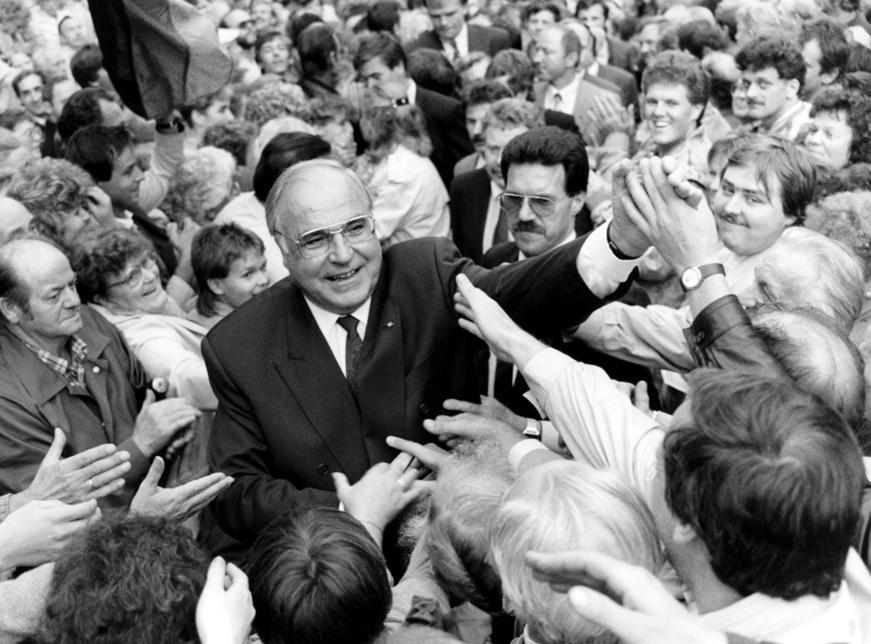 Décès de l'ancien chancelier allemand Helmut Kohl