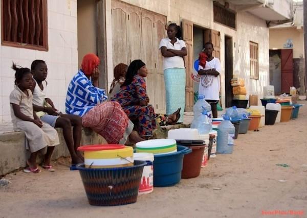 Parcelles Assainies Unité 12: les populations sont restées 3 mois ans eau