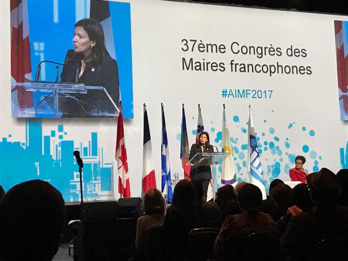 37ème Congrès à Montréal : l'AIMF réaffirme son soutien à Khalifa Sall