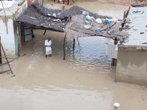 Première pluie à Tambacounda: les dégâts en images