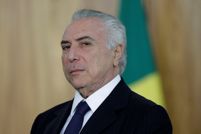 Brésil: accusé de corruption, Michel Temer mobilise ses troupes