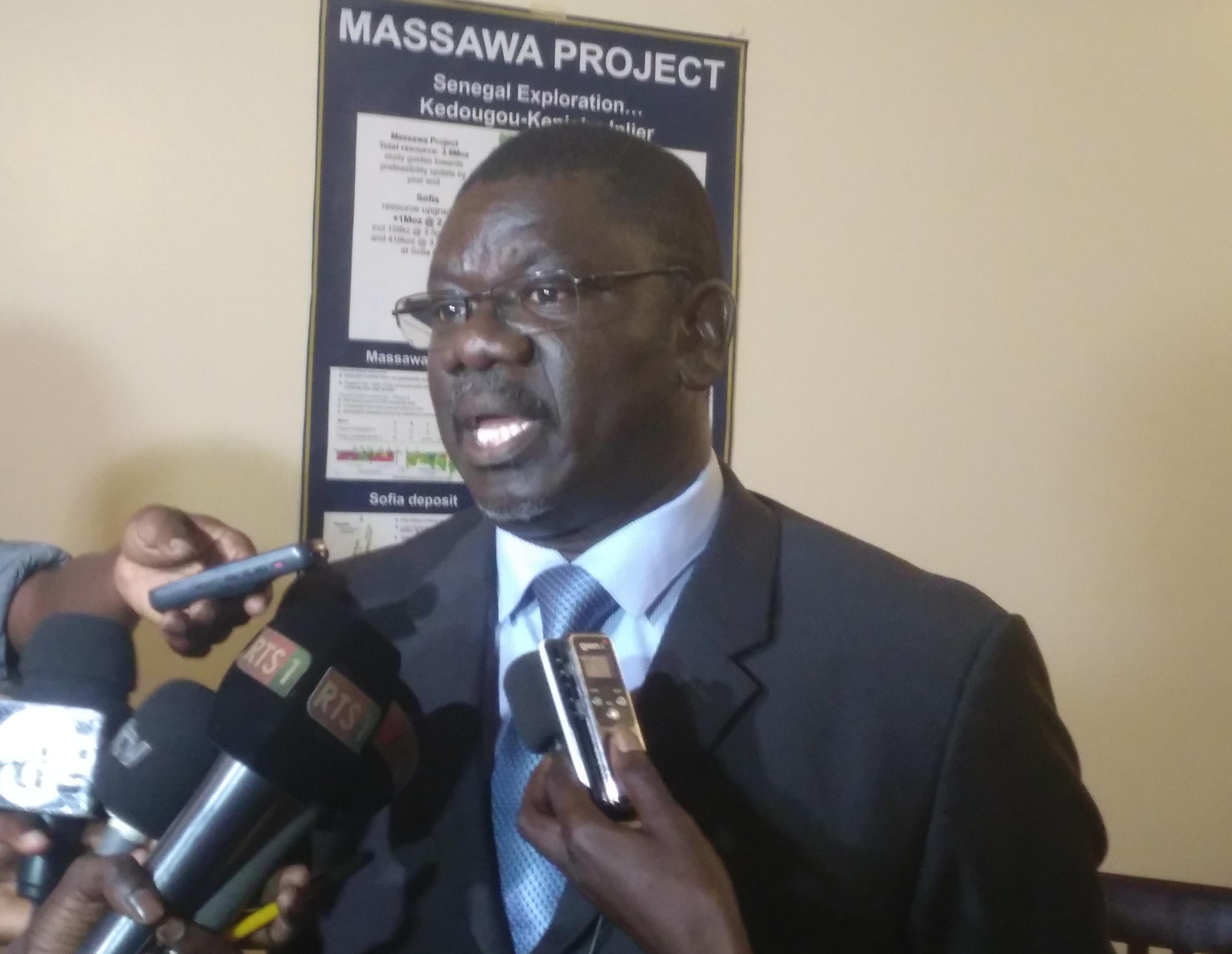 Randgold révèle une découverte d'un gisement estimé à 68 tonnes d'or à Massawa (Kedougou)