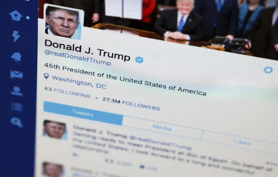 Twitter: Des utilisateurs bloqués par Donald Trump attaquent le président américain en Justice