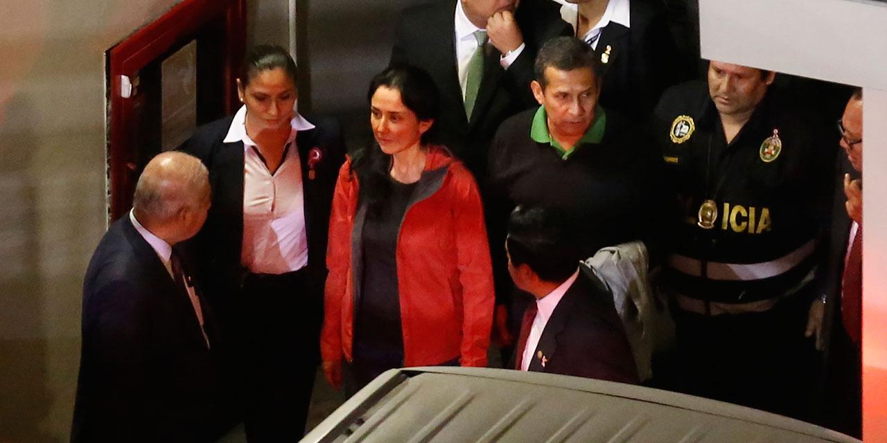 Pérou : l'ex-président Humala et son épouse condamnés à 18 mois de prison préventive