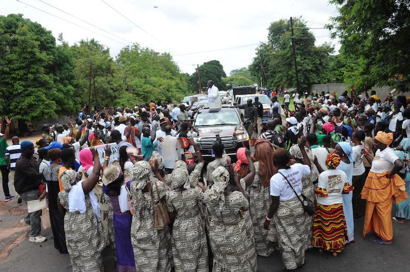 Législatives 2017: Le Pm rend visite au roi d'Oussouye
