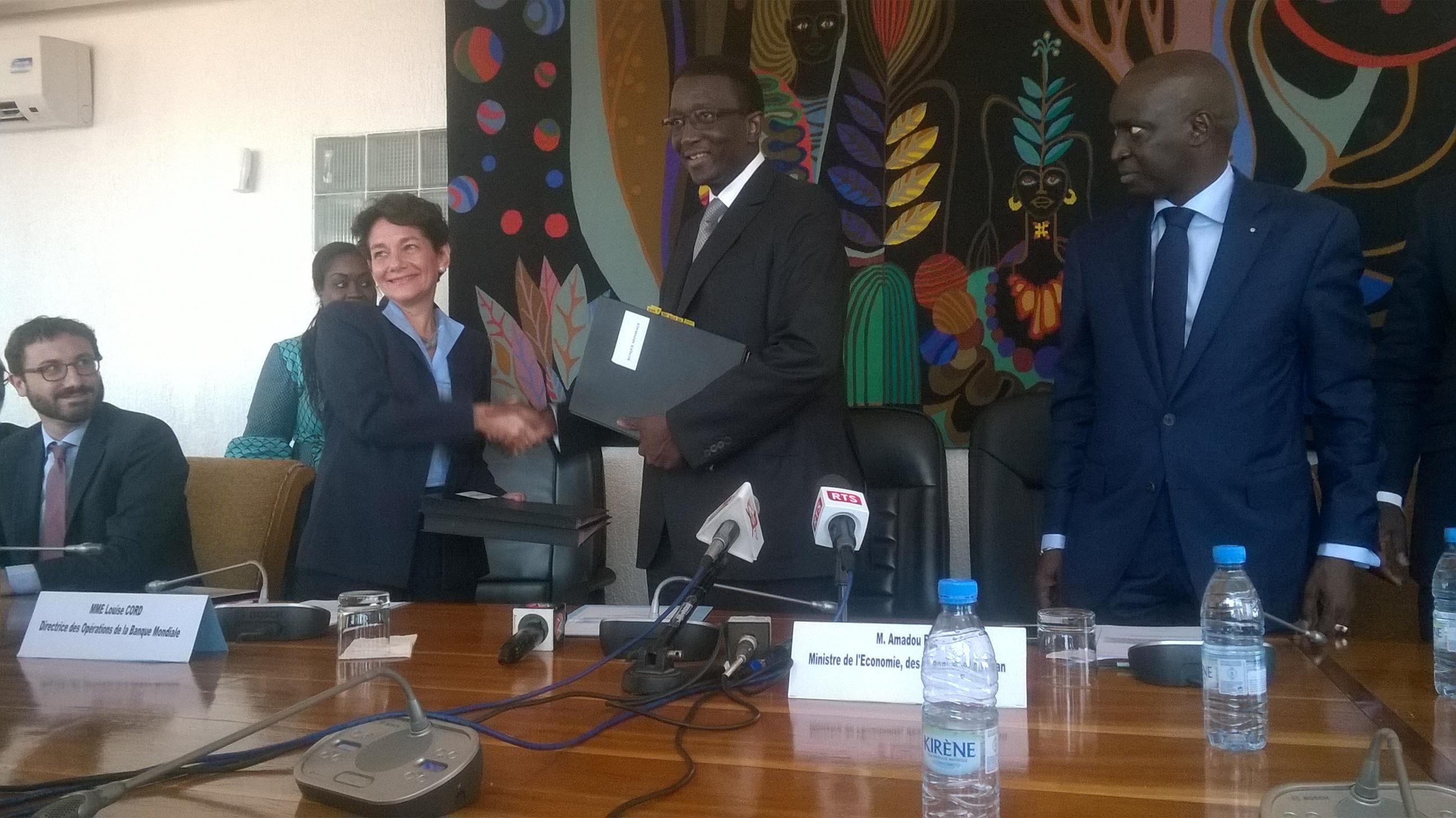 Accords de financements - PEAMU: 58 milliards de F CFA pour combler le déficit actuel en eau de Dakar