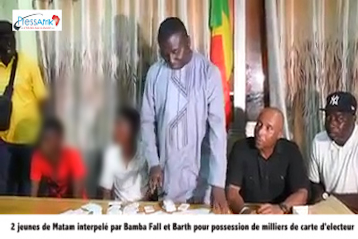 1000 cartes d'électeurs saisies par Mankoo: les précisions du Sous-préfet des Almadies
