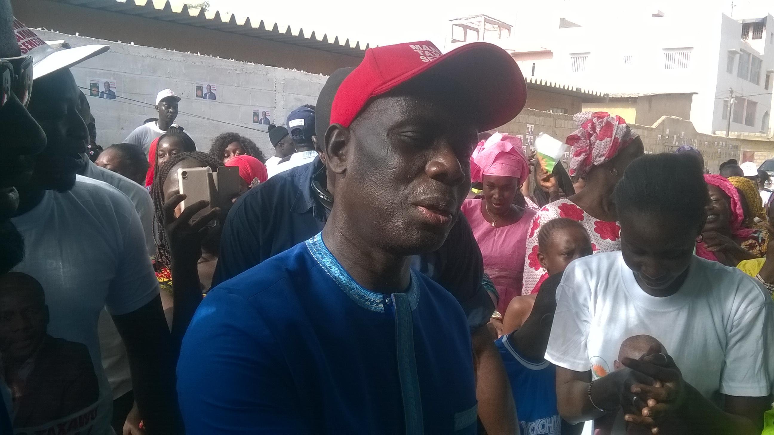 Élections législatives : Visite de proximité de Malick Gackou aux Parcelles Assainies