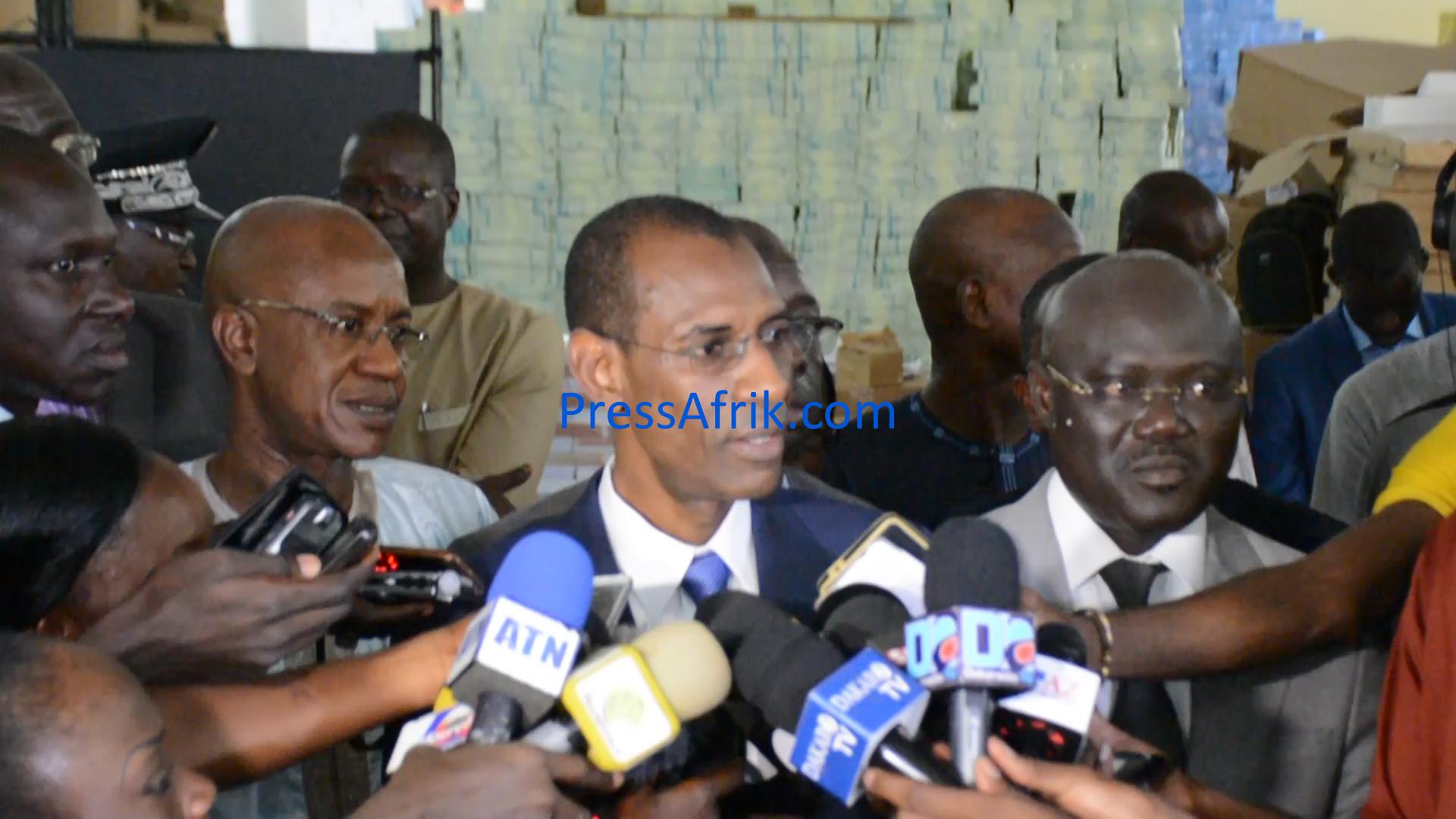 Marche de Wattu Sénégal : Abdoulaye Daouda Diallo bande les muscles