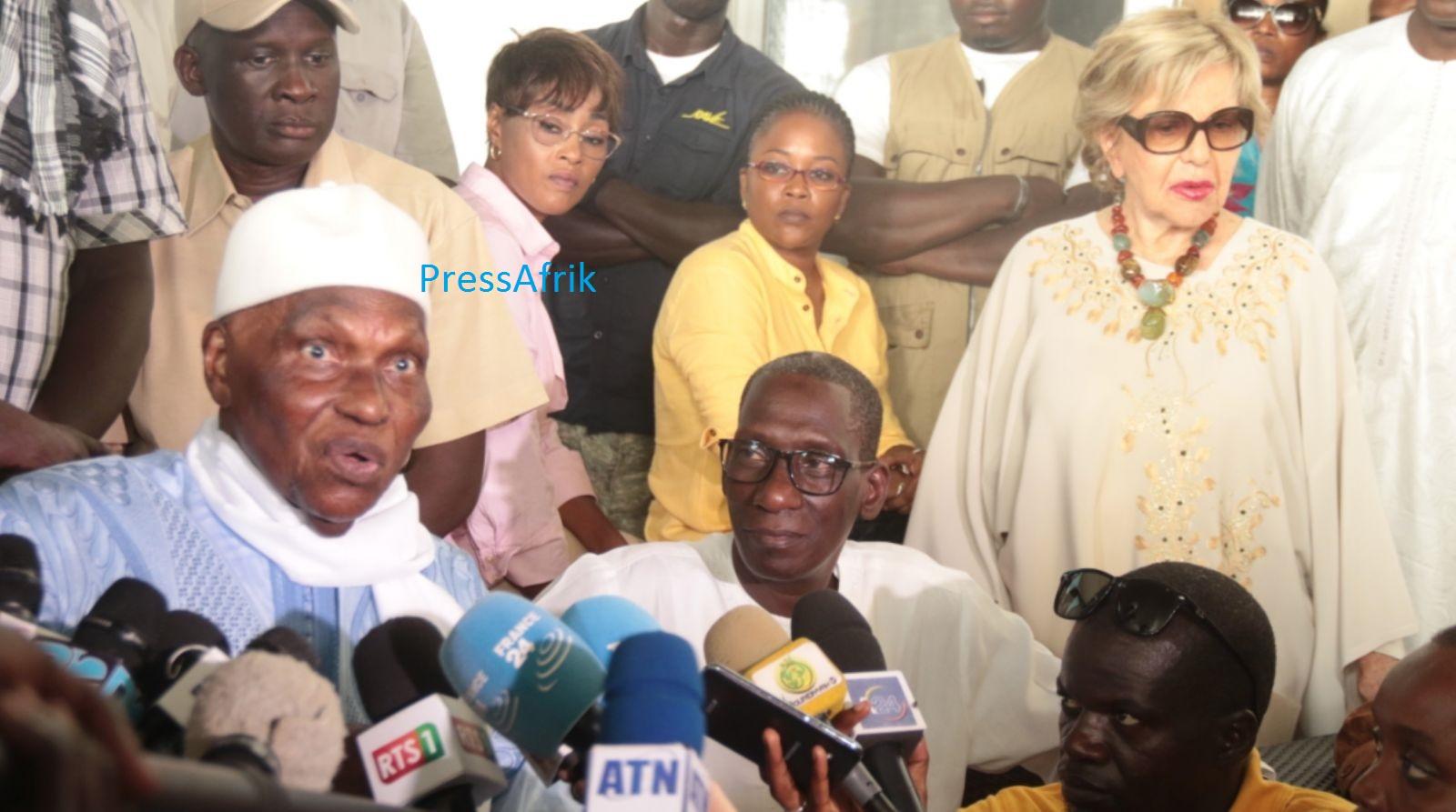 """""""Abdoulaye Daouda Diallo et Macky Sall ont échoué"""", Wade"""