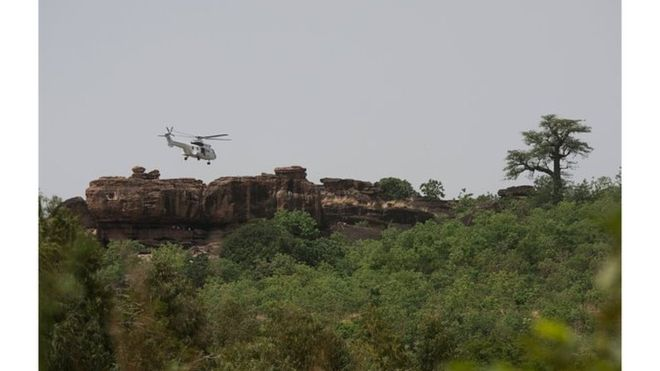 Mali : un crash d'hélico coûte la vie à deux casques bleus