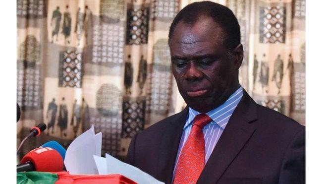 Kafando 'optimiste' pour la résolution de la crise au Burundi