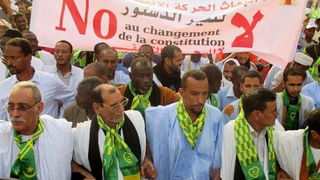 Mauritanie: deux marches de l'opposition réprimées