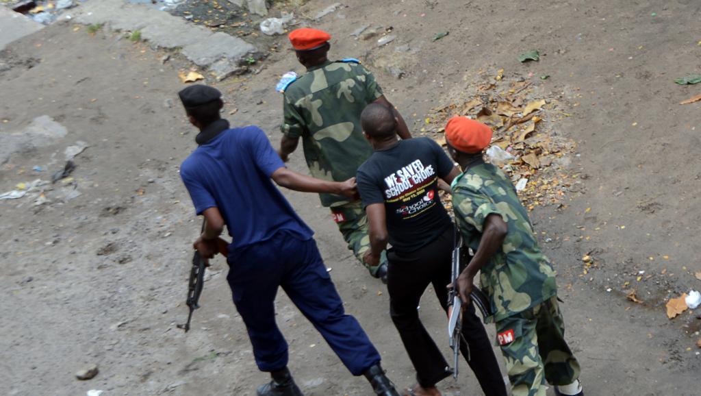 RDC: Des militants et journalistes arrêtés lors des manifestations