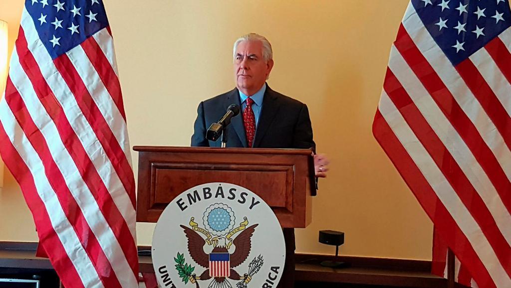 Rex Tillerson: pas de dialogue avec Pyongyang avant l'arrêt des tirs de missile
