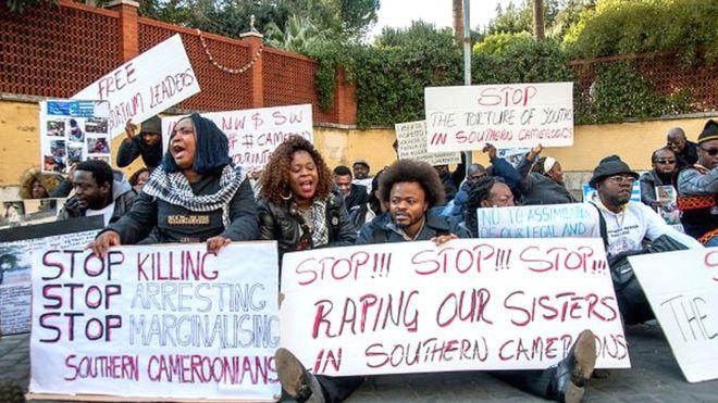 Cameroun: des activistes anglophones en grève de la faim