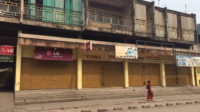 Journée ville morte en RDC