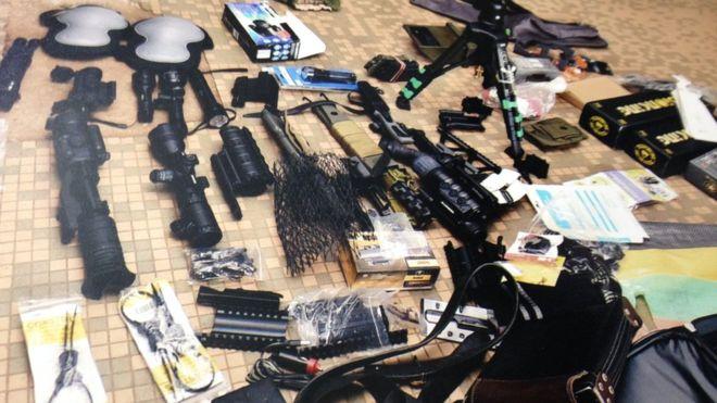 Cameroun : découverte d'une cache d'armes