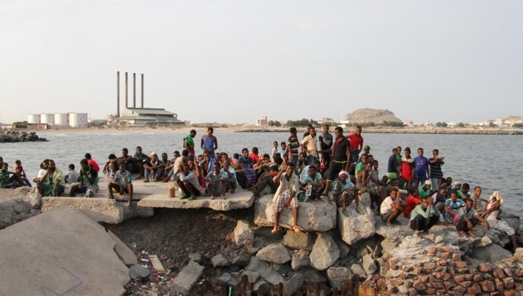 Corne de l'Afrique: des migrants de nouveau jetés en mer par leurs passeurs