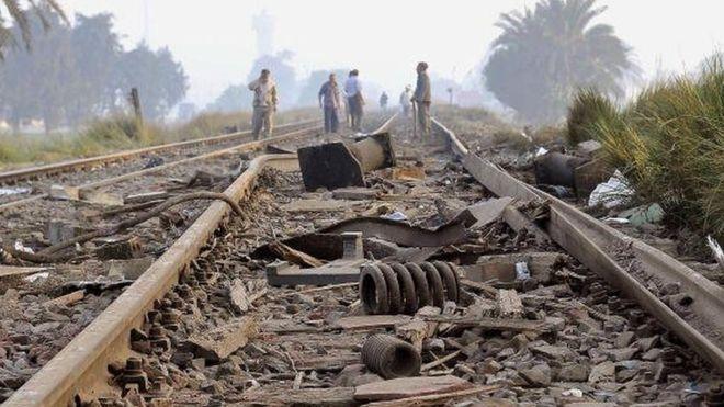 36 morts dans une collision de trains en Egypte